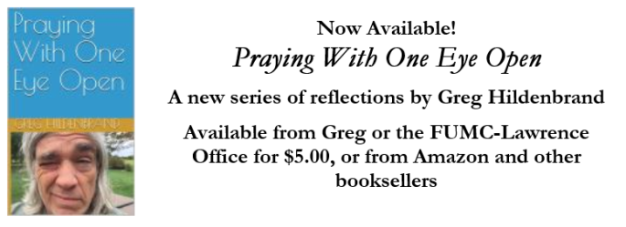 Praying With One Eye Open - ad